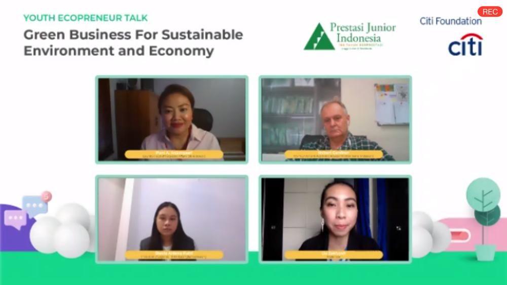 Citi Indonesia Giring Anak Muda Jadi Entrepreneur Berorientasi Lingkungan